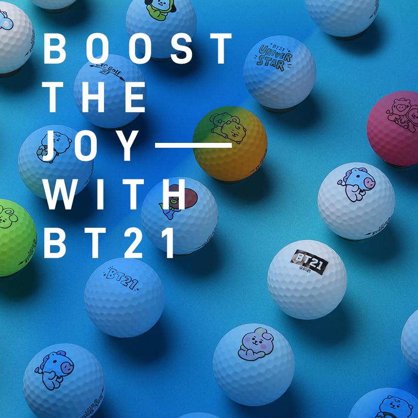비티21골프(BT21GOLF) BT21 BABY 골프 아이언커버 9종 세트